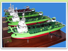 Dredger Model , Dredger Scale